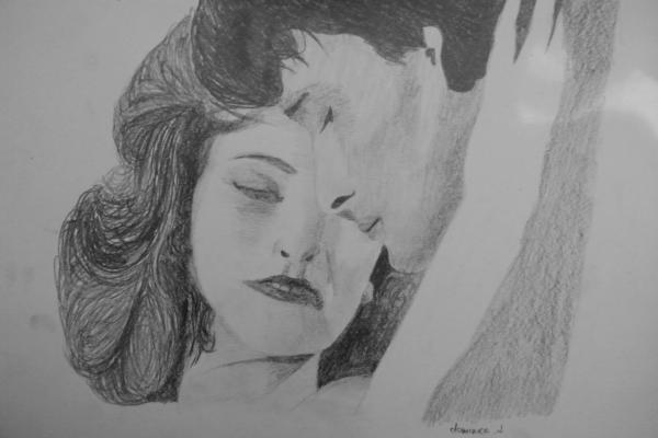 Patrick Swayze, Jennifer Grey by dominica.d